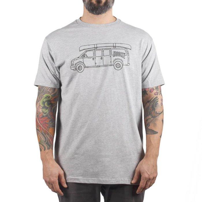 T-Shirt Hooké Van  Gris Chiné
