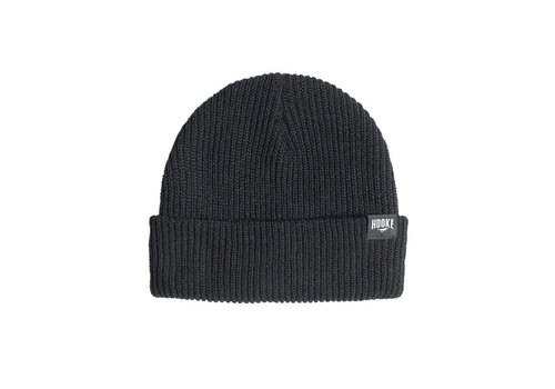 Hooke Fisherman Beanie Black
