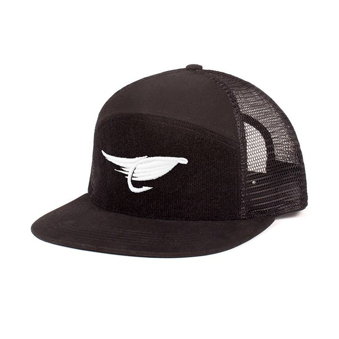 Fly Trucker Cap Black