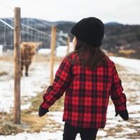 Chemise canadienne pour Enfants - fait à la main