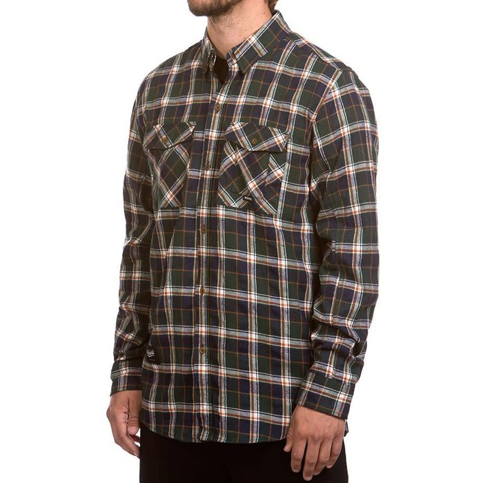 Adventure Shirt Dark Green & Navy