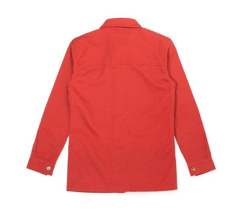 Women's Military Jacket Marsala