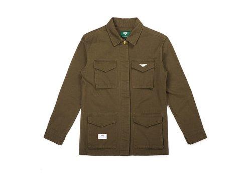 Women's Military Jacket Green