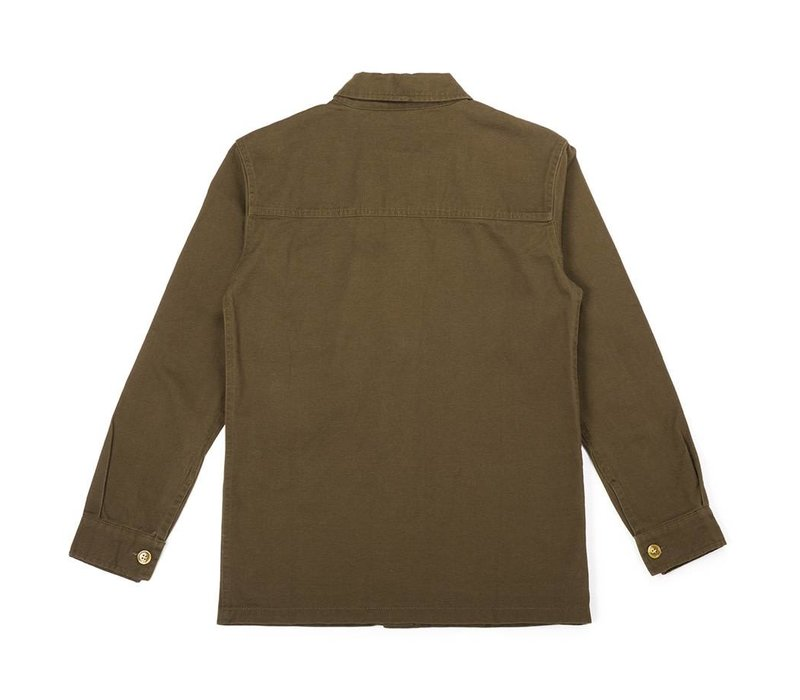 Women's Military Jacket Green