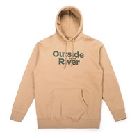 Outside By The River Hoodie Sandstone