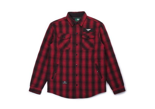Canadian Insulated Jacket Red & Black