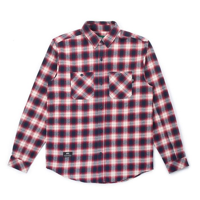 Adventure Shirt Navy, Red & White