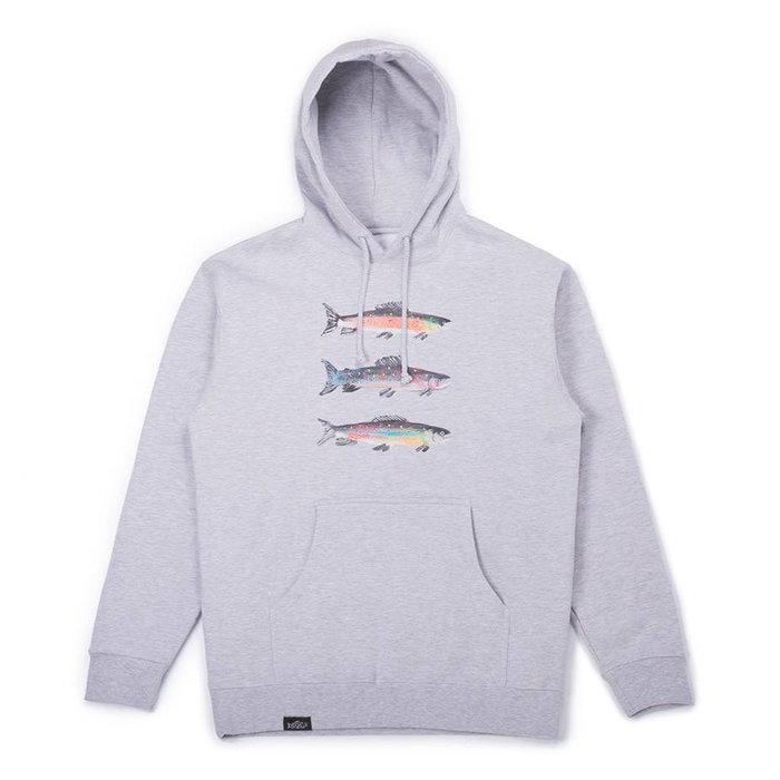 Pierre Bouchard Collab Hoodie Gris Chiné