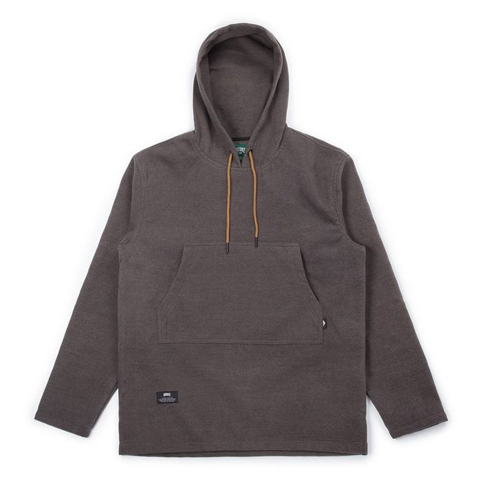 Poncho Hoodie Heather Charcoal