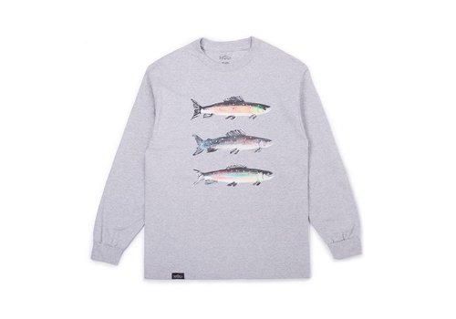 Pierre Bouchard Collab LS Tee Grey