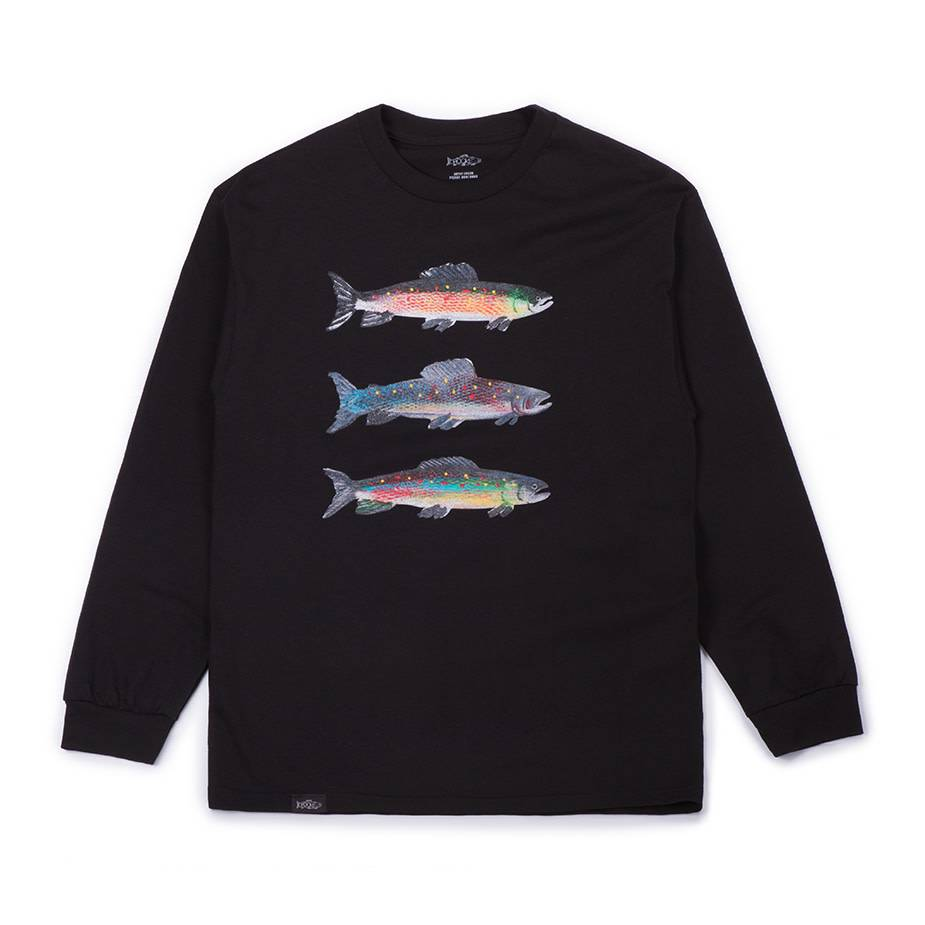 Pierre Bouchard Collab LS Tee Black