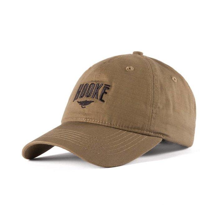 Hooké Ripstop Dad Hat Kaki