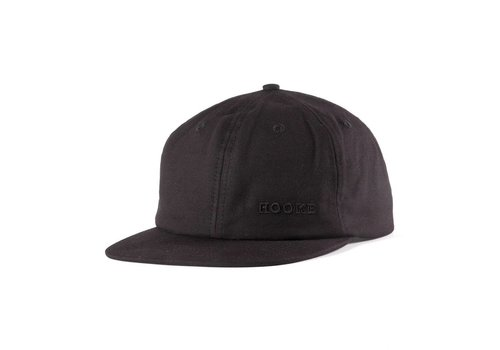 Hooké Waxed Strap Back Black