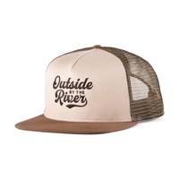 River Trucker Hat Beige, Khaki & Brown