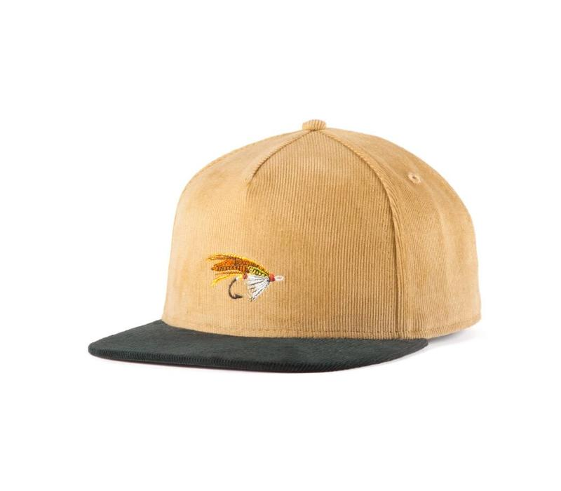 Salmon Fly Strap Back Sable & Vert