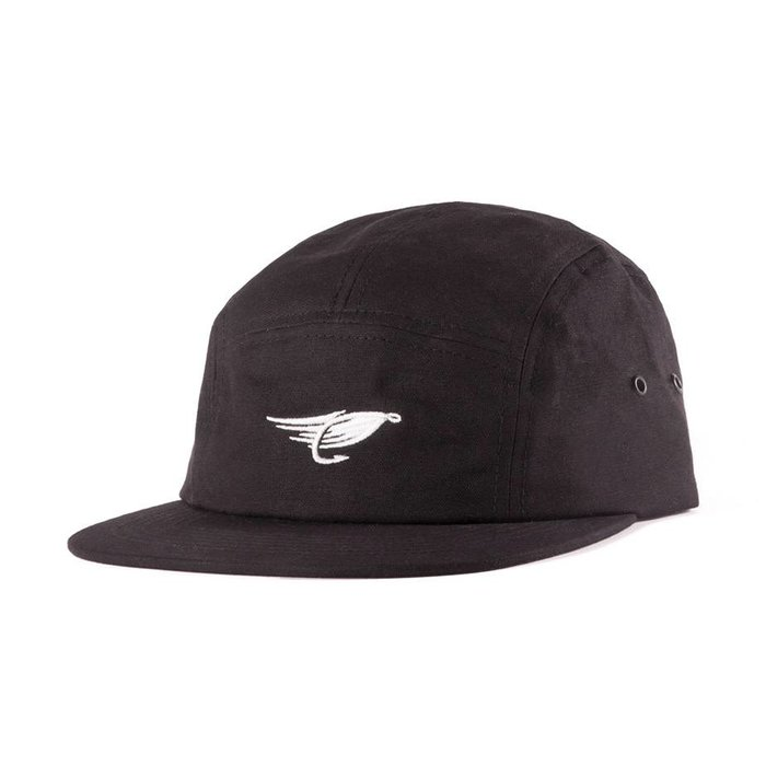 Waxed Camper Hat Black