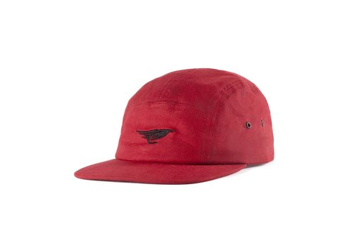 Waxed Camper Hat Rouge