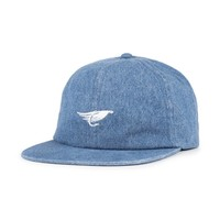 Fly Strap Back Washed Navy