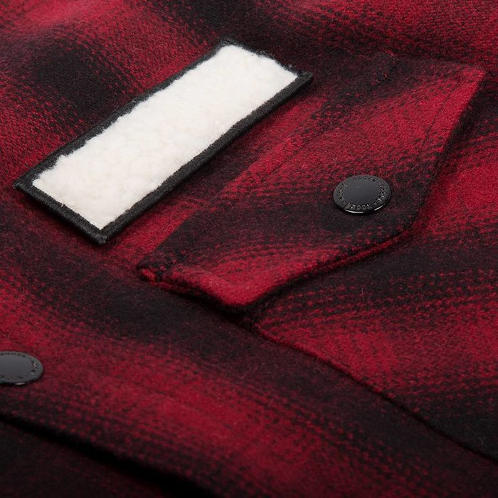 Veste Isolée Canadienne Rouge
