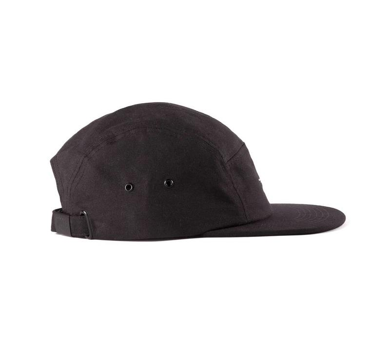 Waxed Camper Hat Noir
