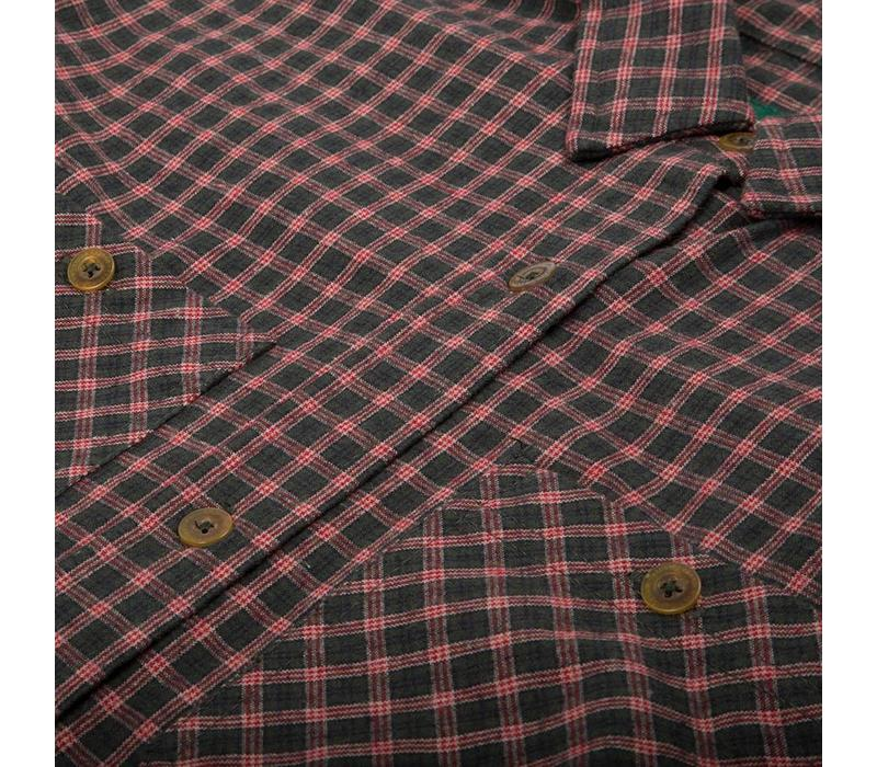 Adventure Shirt Forest Green & Red