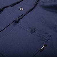 Chemise à Capuchon Marine
