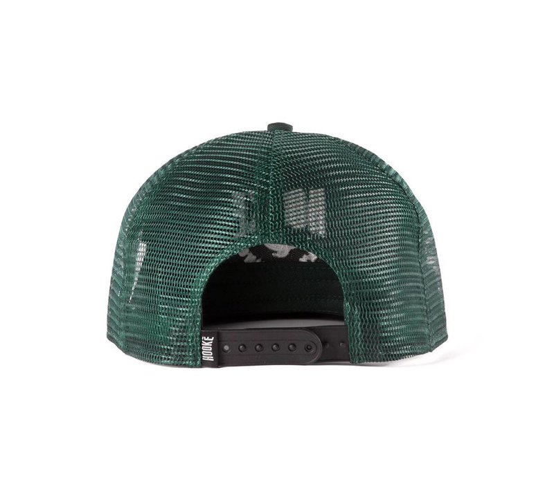 Fly Fishing Trucker Hat Alpine Green