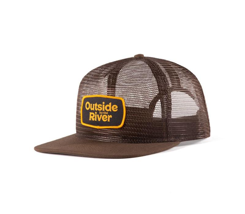 Mesh Trucker Hat Brun