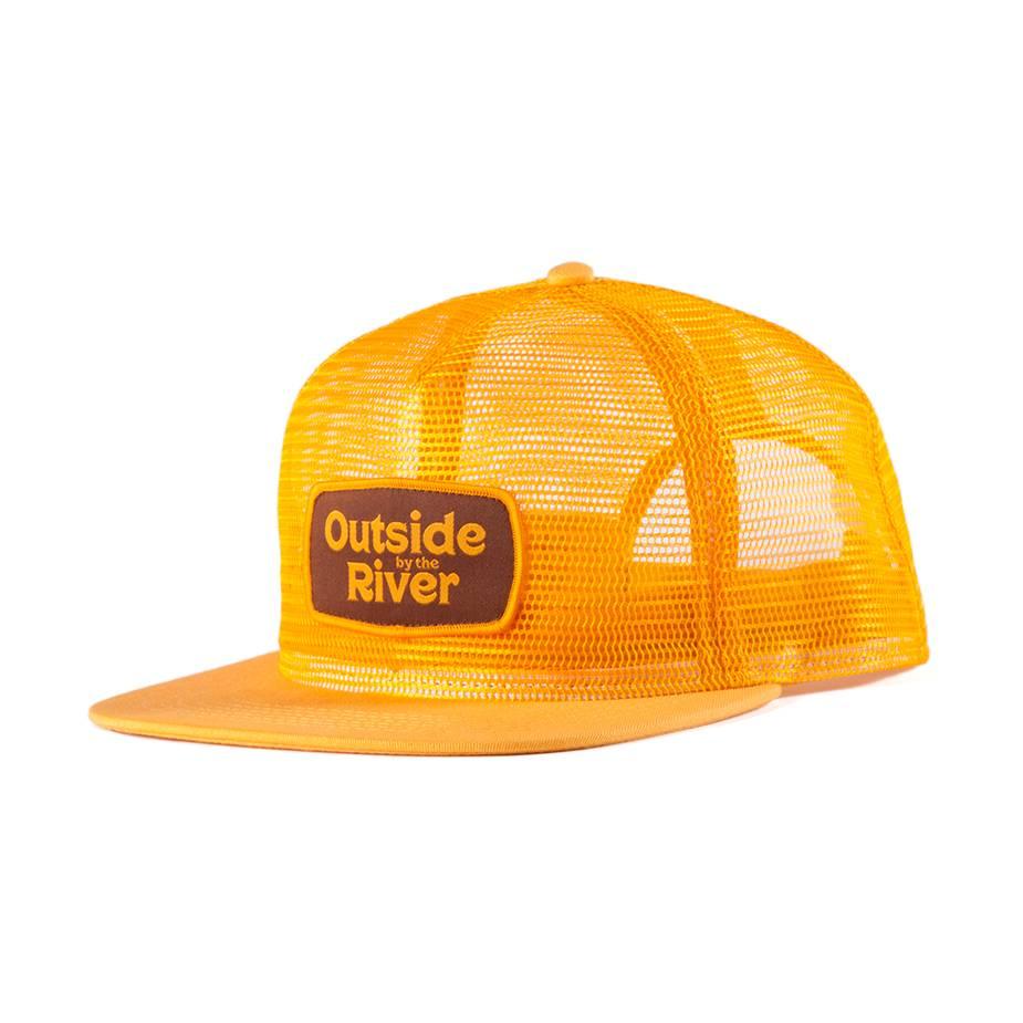Mesh Trucker Hat Mustard