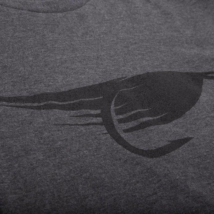 Big Fly T-Shirt Heather Charbon