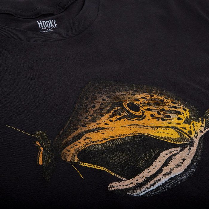 Wandering Blue Lines Trout T Black