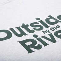 Outside By The River LS Tee Cendré