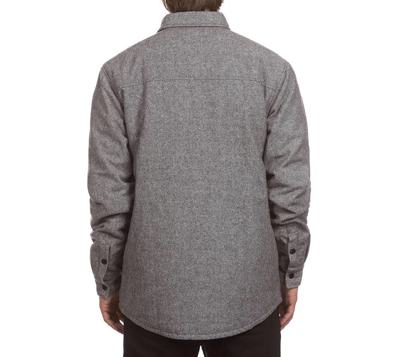 Tweed Insulated Jacket Grey