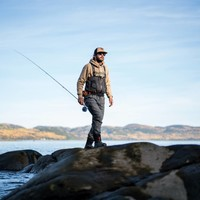 Fly Fishing Trucker Hat Chameau & Noir
