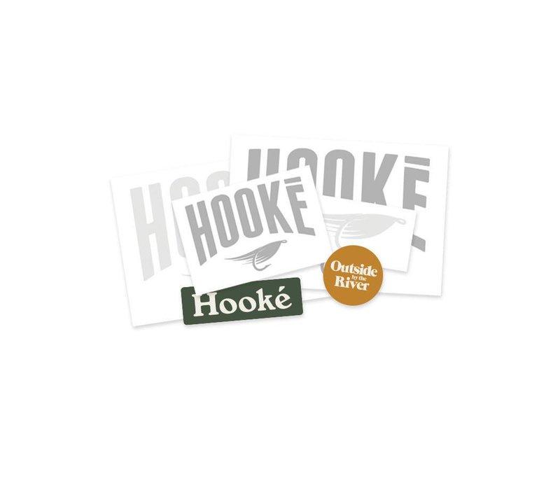 Ensemble d'autocollants Hooké