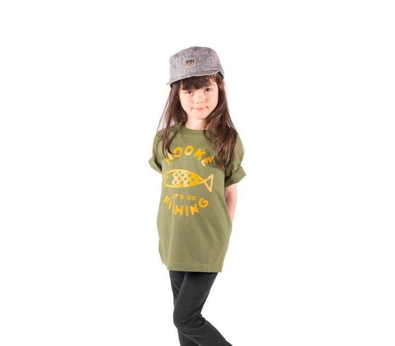 Let's Go Fishing T-shirt pour enfants