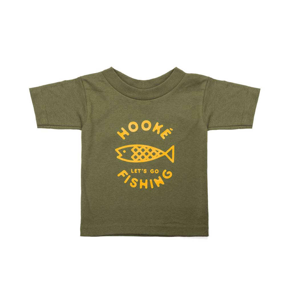 Let's Go Fishing T-shirt for kids