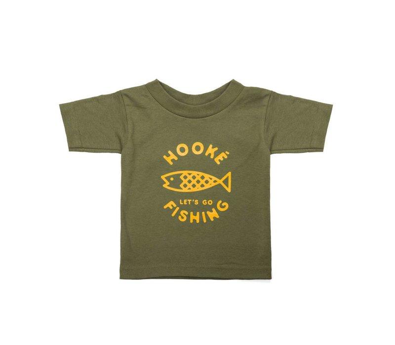 Let's Go Fishing T-shirt for kids