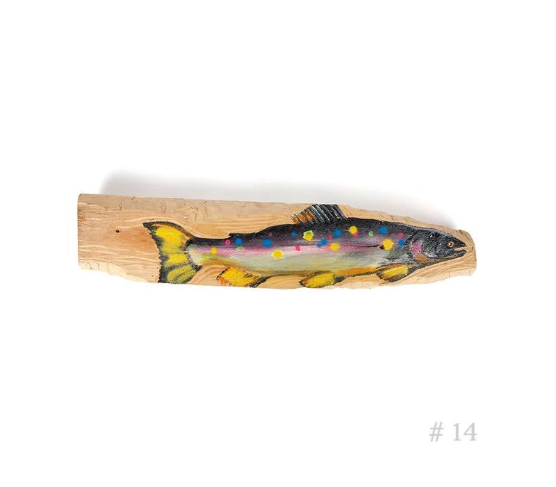 Wooden Trout - Waves