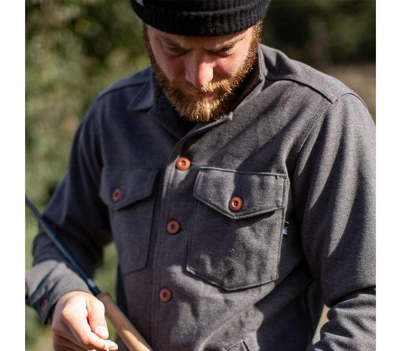 Timber Overshirt Heather Charcoal