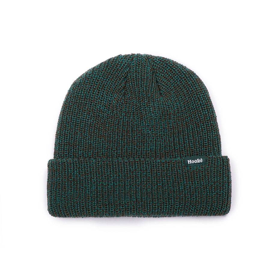 Hooké Mixed Beanie Green