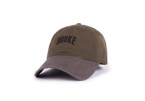 Hooké Waxed Dad Hat Kaki et Charbon