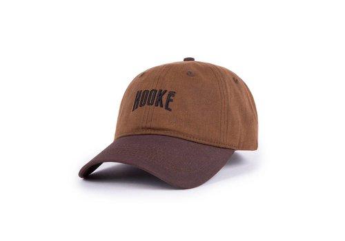 Hooké Waxed Dad Hat Brun