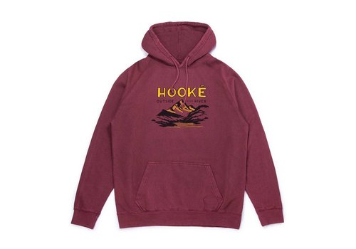 Outside By The River Hoodie Brick
