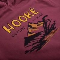 Outside By The River Hoodie Vintage Brick