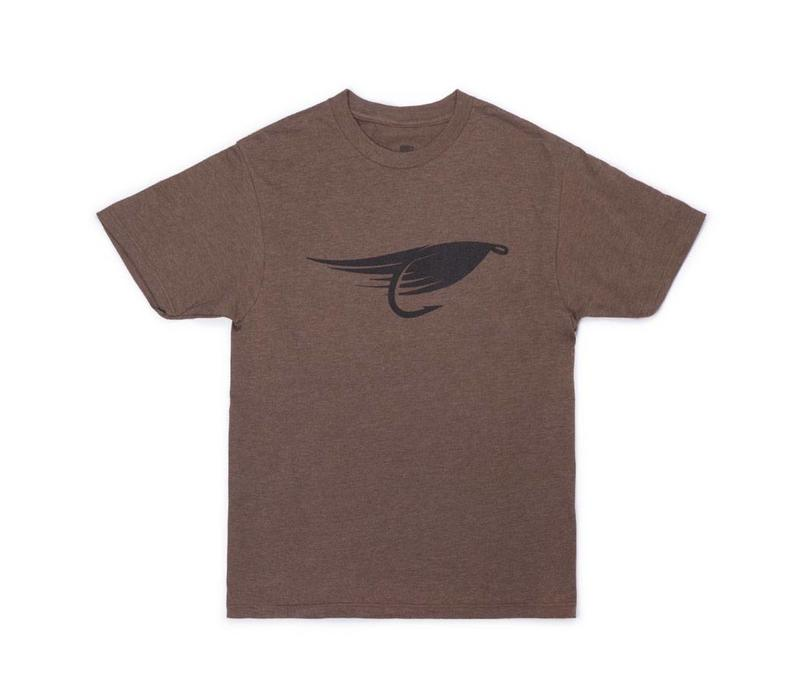 Fly T-Shirt Heather Brown