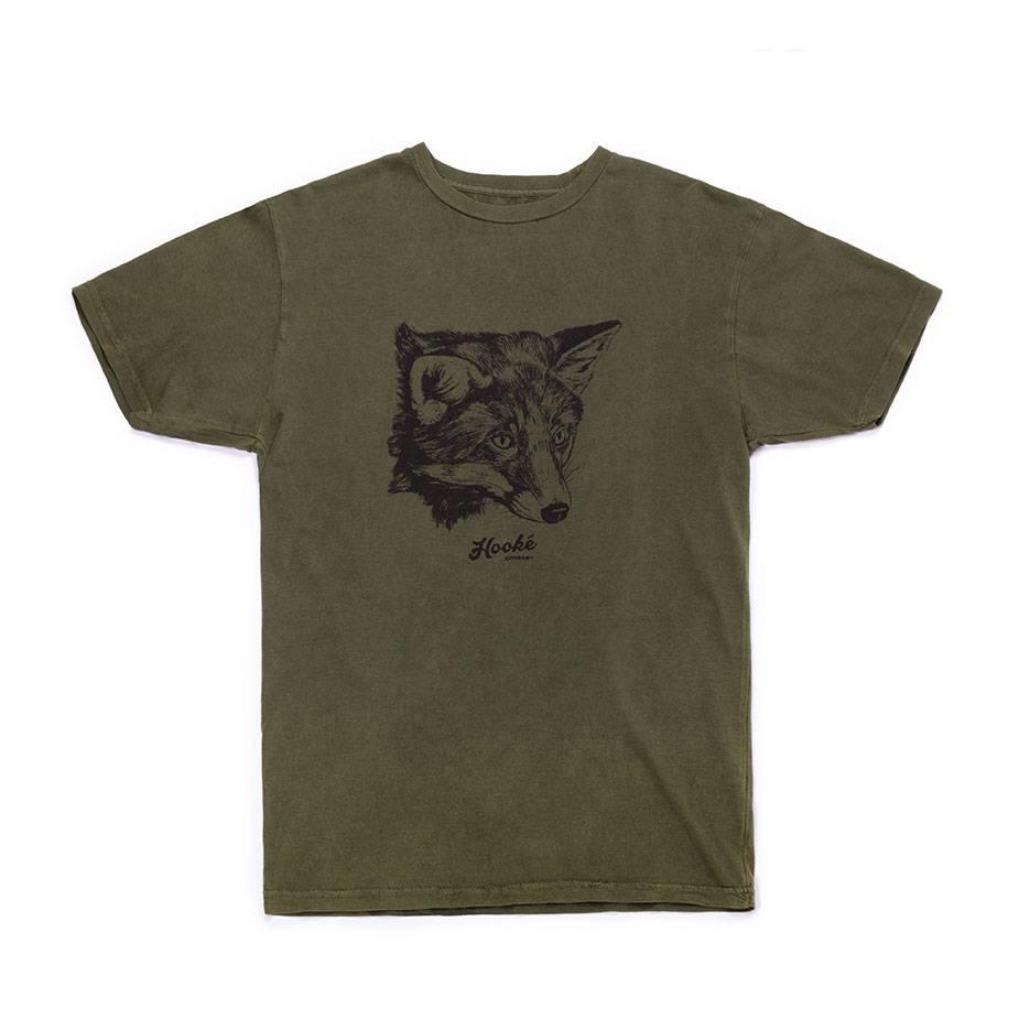 Fox T-Shirt Olive