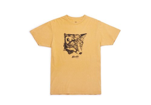 T-Shirt Fox Moutarde Vintage