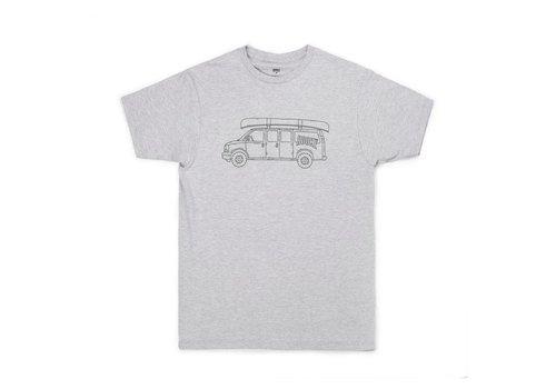 Hooké Van T-Shirt Grey