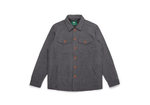 Timber Overshirt Charcoal